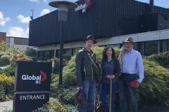 July 2, 2018 the expedition team was interviewed by Global News at Noon BC. We came showing off some of our vintage gear and talked about the expedition.
