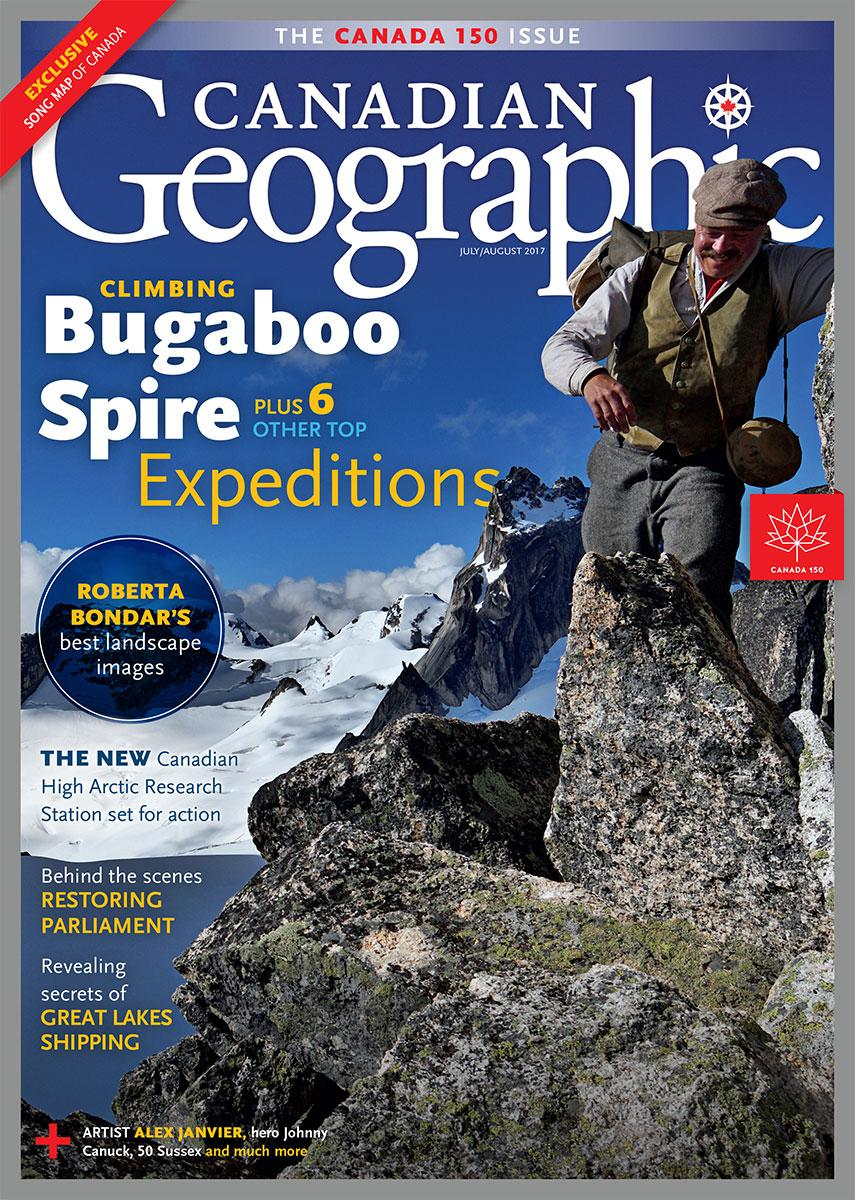 Cover Canadian Geographic
