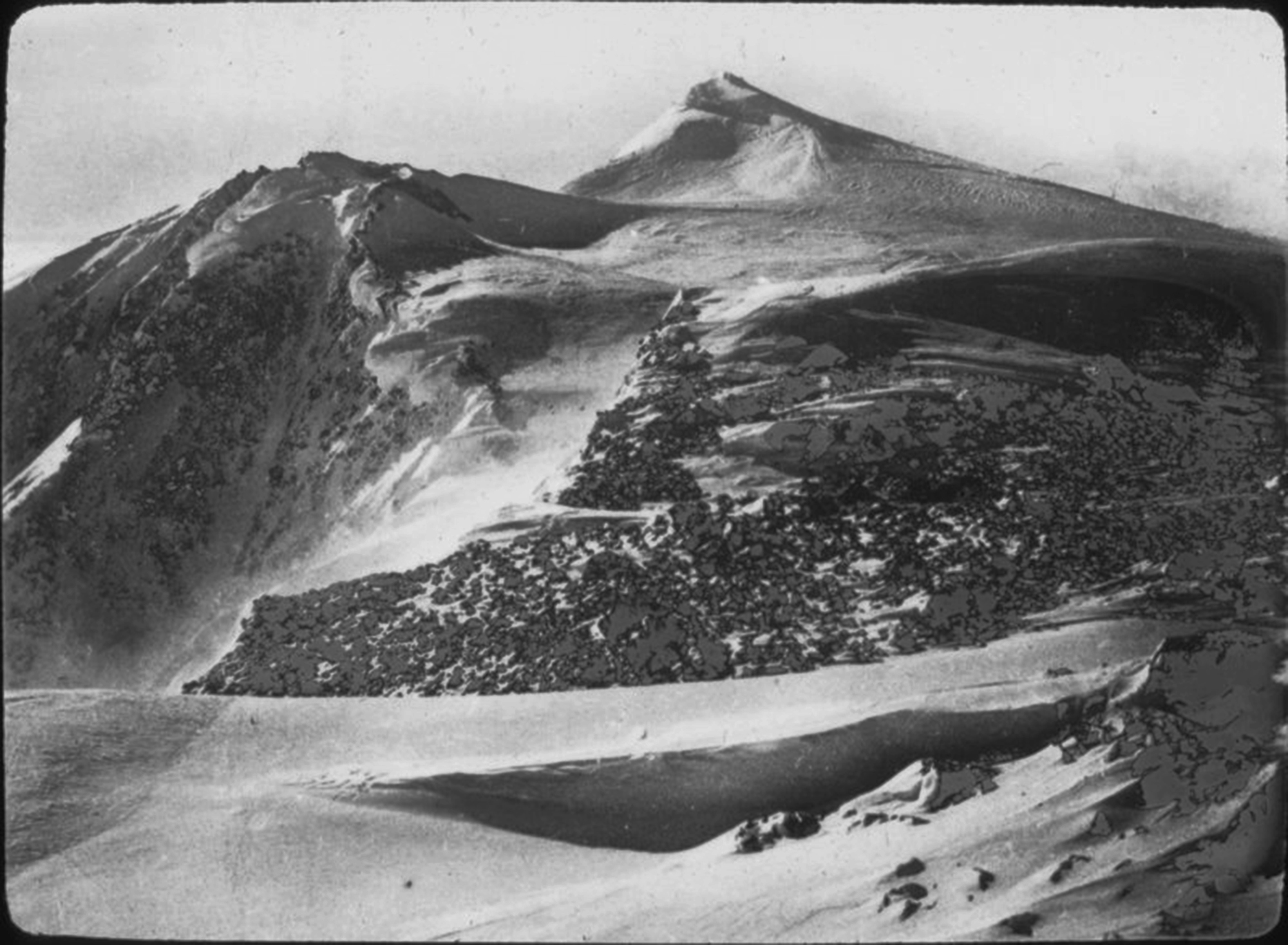 N. summit Logan from col between it and main summit. 1925