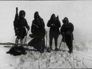 N. Peak of Mt. Logan (1st peak 19,800) 1925