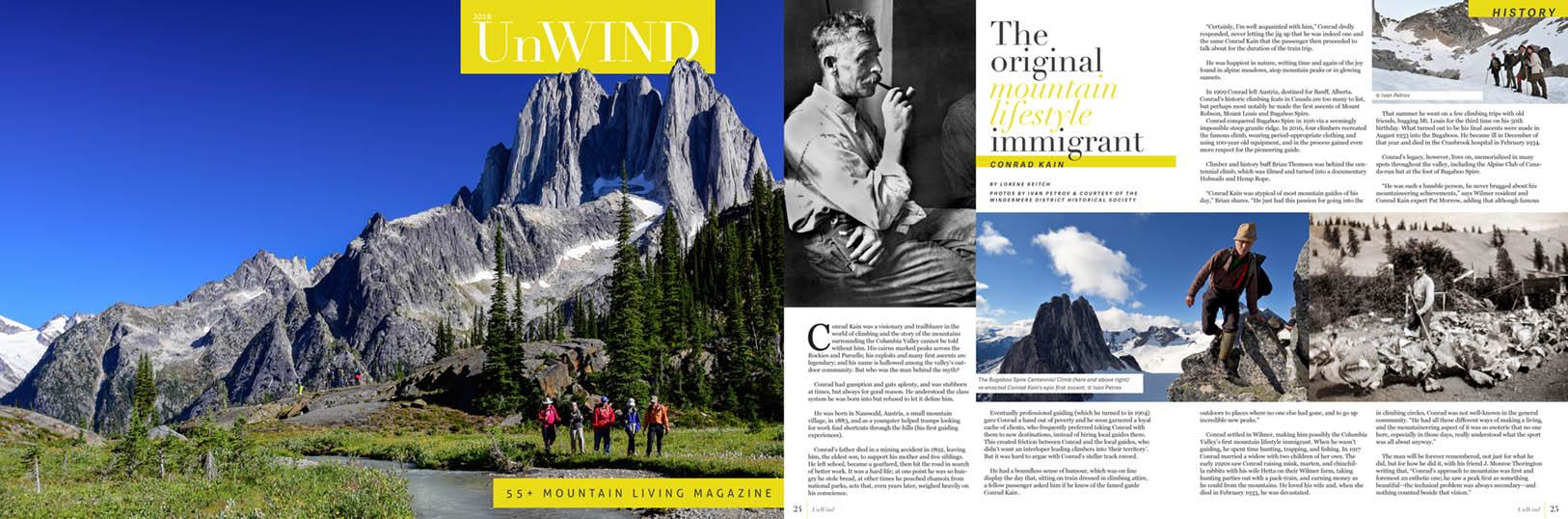 UnWind magazine Jan 2018